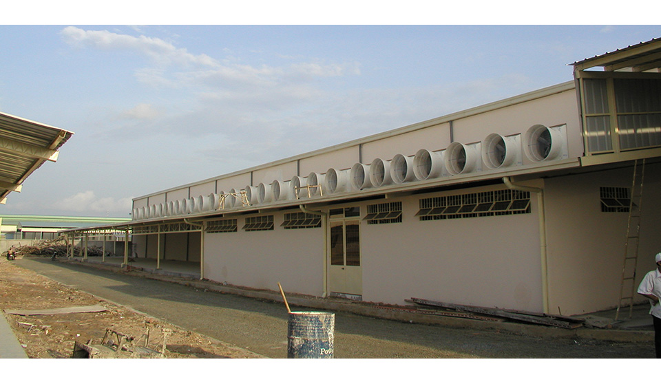 Industrial Building Ventiltors : Abbi aerotech ventilation in industrial building